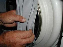 Замена резинок на стиральной машине в Москве