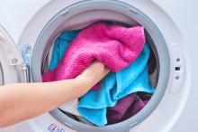 Перегрузка белья в стиральной машине