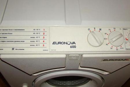 Проводим ремонт стиральных машин Euronova на дому
